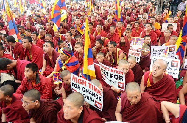 Resultado de imagem para conflito tibetano