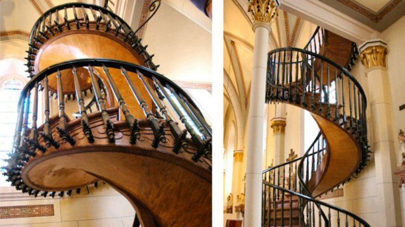 Escada de Santa Fé, um enigma da arquitetura moderna