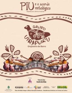 Trabalho cênico-musical realizado com instrumentos de barro percorre o Ceará