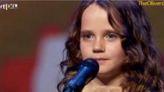 Menina de nove anos encanta em 'Holland's Got Talent'