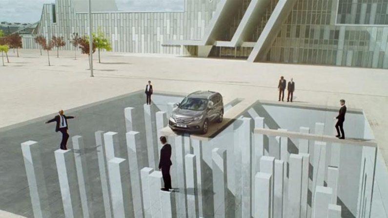 Incríveis efeitos de ilusão em propaganda da Honda