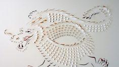 Lisa Rodden e sua bela arte em papel