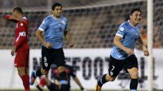 Uruguai goleia Jordânia e caminha para classificação à Copa