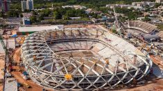 Justiça bloqueia bens de novos acusados de corrupção na construção do Estádio Nacional