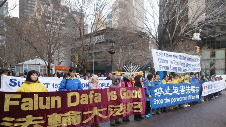 Praticantes do Falun Gong apelam à ONU contra perseguição na China