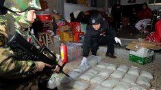 Vila na China é descoberta com toneladas de metanfetamina e armas