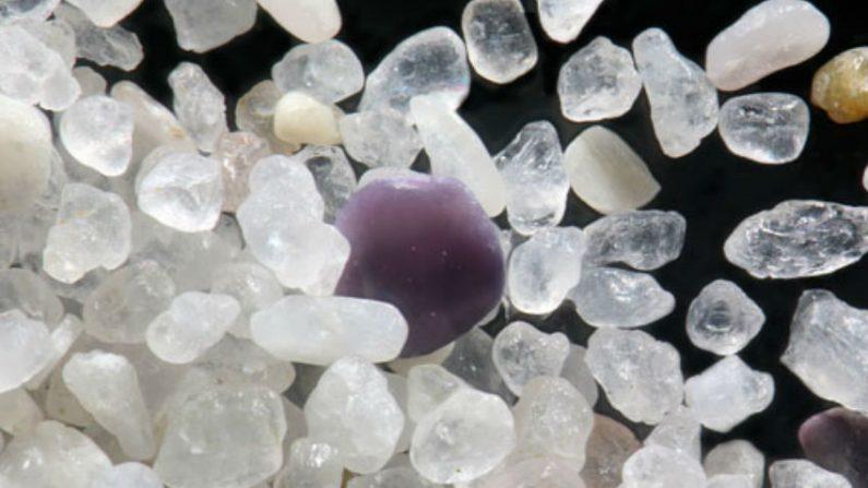 Beleza surpreendente dos grãos de areia a nível microscópico