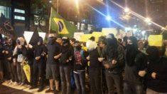 Governo estuda proibição do uso de máscaras em manifestações