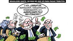 Imposto no Brasil é um furto elegante