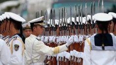 Militares chineses treinam para guerra decisiva contra Japão