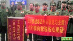 Veteranos chineses apelam ao regime pelos benefícios prometidos