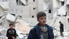Crianças não têm onde se esconder na Síria