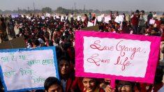 A luta pela sobrevivência do ancestral rio Ganges da Índia