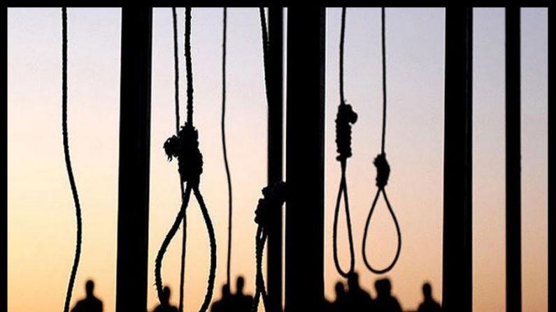 Morte de um poeta no Irã, direitos na forca