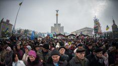 Ucrânia grita por democracia, justiça e independência