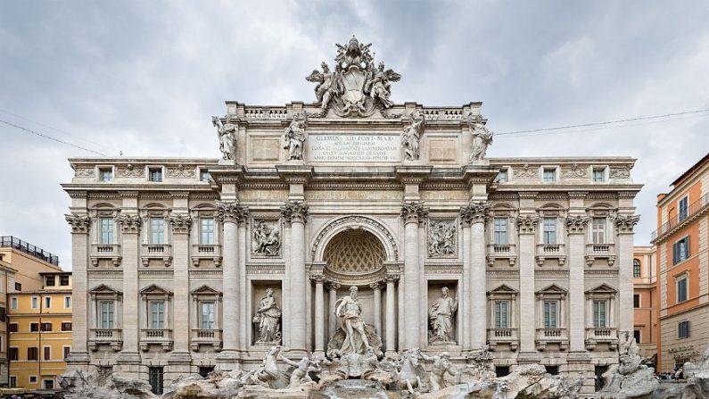 Fontana di Trevi, a mais bela e grandiosa das fontes