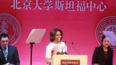 Michelle Obama fala sobre liberdade em discurso na China