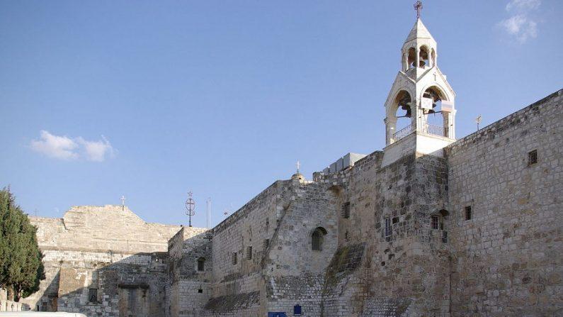Basílica da Natividade, construída sobre a gruta onde Jesus nasceu