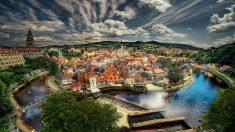 Cesky Krumlov, um cidade medieval em plena República Tcheca