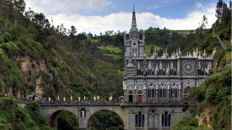 Santuário de Las Lajas, na Colômbia