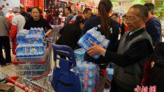 Água poluída causa pânico em cidade chinesa