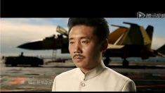 Porta-aviões chinês ganha nova propaganda