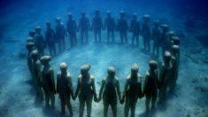 Cancun Underwater Museum, um museu debaixo de água