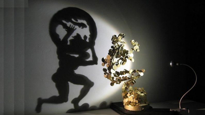 Diet Wiegman e suas incríveis esculturas que projetam sombras