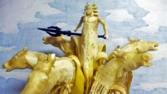 Surpreendentes esculturas em bananas