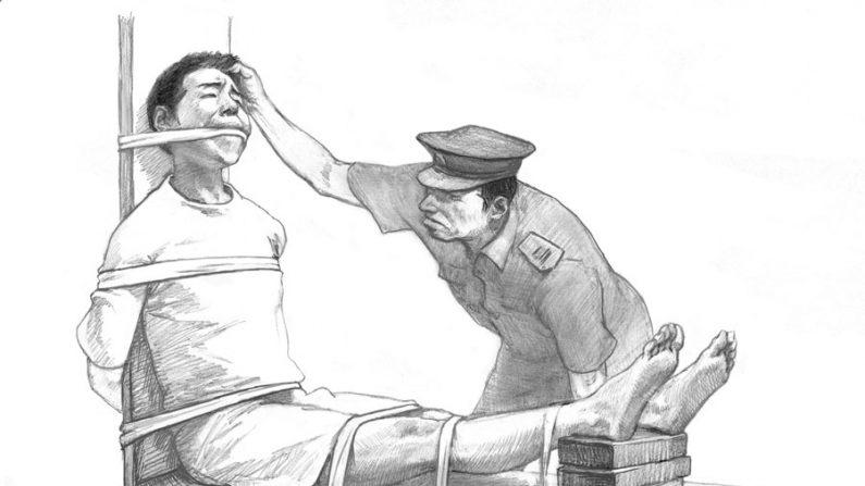 Revendo três centros de tortura e lavagem cerebral na China