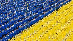O apelo pacífico do Falun Gong em 25 de abril (Galeria de Fotos)