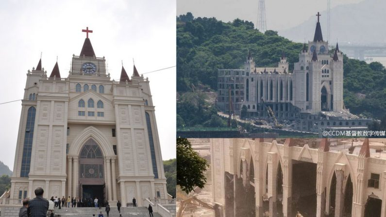 A campanha do governo chinês para demolir igrejas cristãs na China