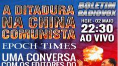 Em entrevista para Rádio Vox, Epoch Times fala sobre China