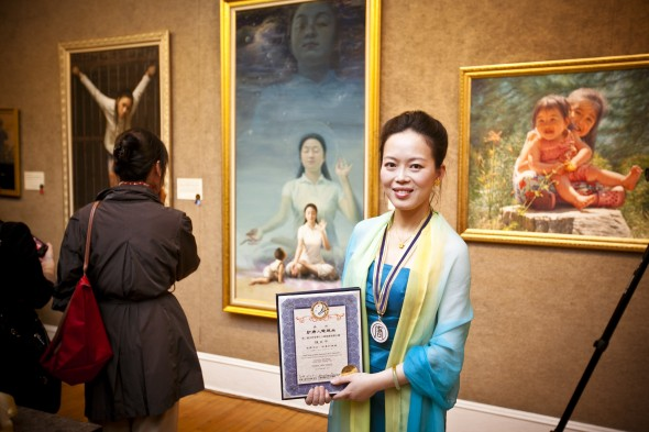 Pinturas a óleo de artistas chineses revivem o realismo
