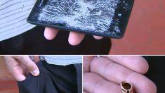 Smartphone salva a vida de policial brasileiro