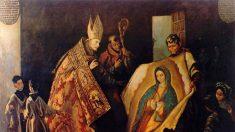 O misterioso manto da Virgem de Guadalupe, no México