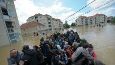 Pior enchente em mais de um século castiga região dos Balcãs
