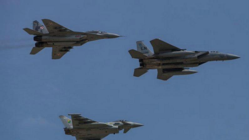 OTAN amplia patrulhas aéreas no Báltico, Polônia e Romênia