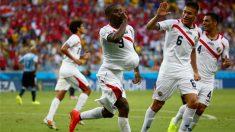 Costa Rica vence Uruguai de virada por 3 a 1 no Castelão