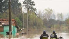 45 mil ficam desalojados devido a fortes chuvas em Santa Catarina