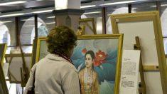 Exposição de arte ajuda chineses a renunciarem ao Partido Comunista