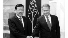 Oficial chinês em visita à Europa é um administrador da violência