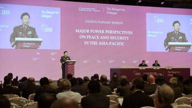 Retórica fervorosa e cálculo frio da China em diálogo de defesa