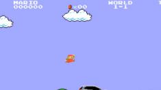Propaganda coloca Mario pilotando um Mercedes