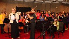 Programa de educação artística encurta distâncias com música