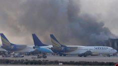 Maior aeroporto paquistanês é novamente atacado