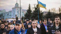 População de Donetsk reage contra separatistas pró-Putin – Parte 2