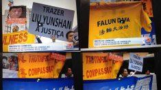 Autoridade chinesa é recebida com protestos em Portugal