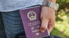 Passaportes de funcionários chineses são confiscados