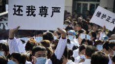 Spray de pimenta, melhor amigo dos médicos chineses